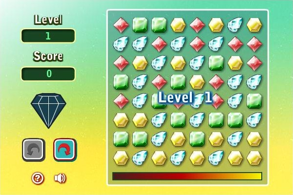 Gems Twist Browser Level 1