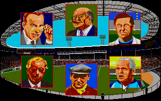 Kenny Dalglish Soccer Manager Atari ST Important people
