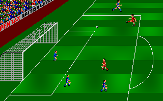 Kenny Dalglish Soccer Manager Atari ST It might be a goal.