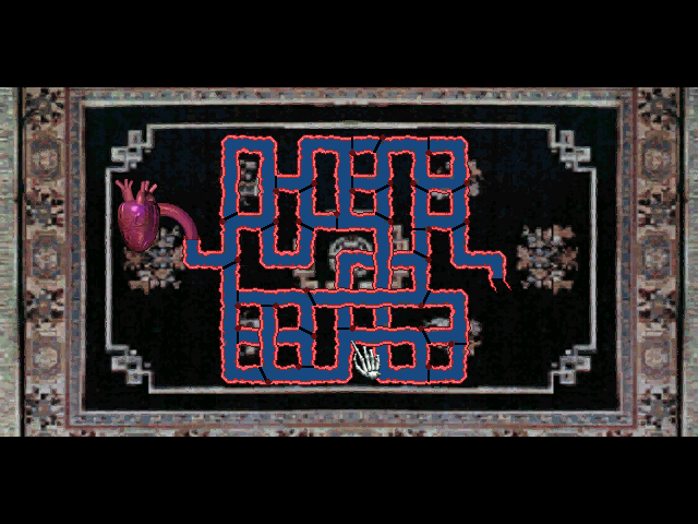 The 7th Guest DOS Heart puzzle