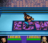 ECW Hardcore Revolution Game Boy Color Justin sends Tommy Dreamer to hell.