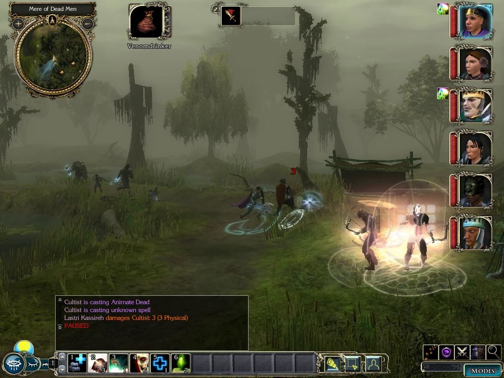 Neverwinter Nights 2: Storm of Zehir Windows Swamps and cultists