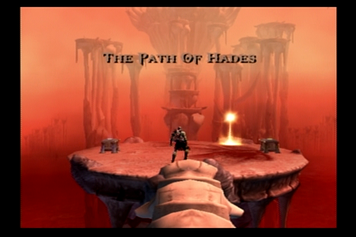 God of War PlayStation 2 Welcome to hell.