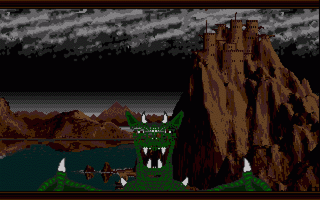 Dragon Lord Atari ST From the intro: Calgor flies