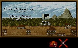Dragon Lord Atari ST A small reward from a town in battle with the town I attacked