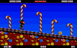 Zool Atari ST Starting level one