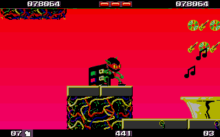 Zool Atari ST Not the best level graphics I've seen