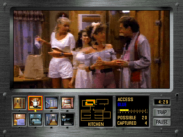 Night Trap Macintosh Large screen mode