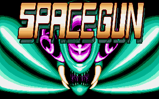 Space Gun Atari ST Title screen