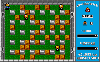 Bomberman Atari ST Time for round one