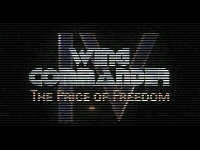Wing Commander IV: The Price of Freedom DOS Title