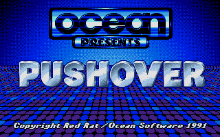 Pushover Atari ST Title screen