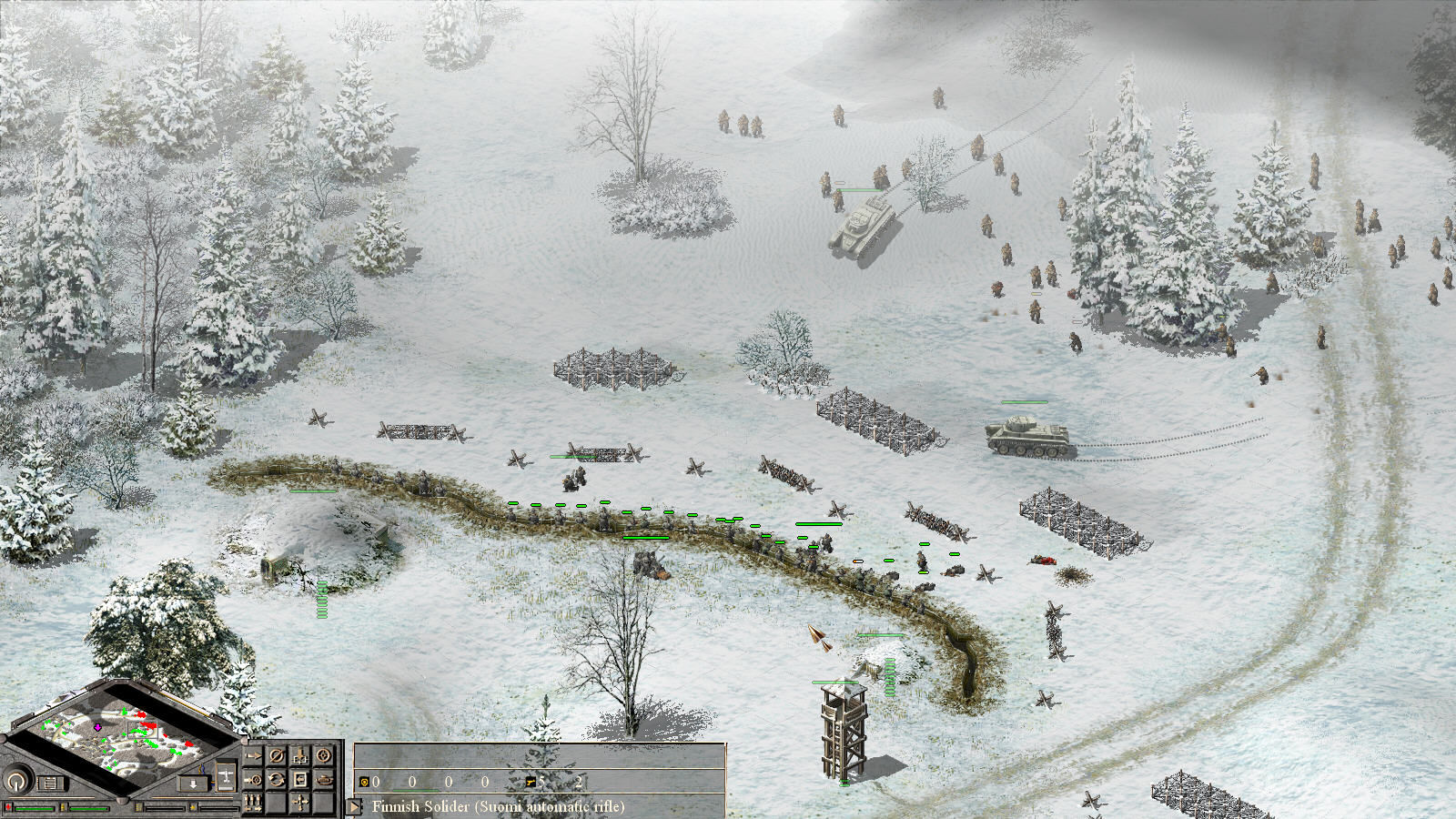 Talvisota: Icy Hell Windows Russian forces attacking.
