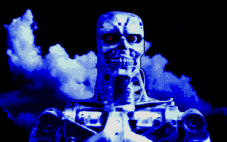 Terminator 2: Judgment Day Atari ST Terminator (from intro)