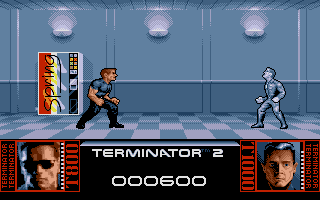 Terminator 2: Judgment Day Atari ST I shot terminator...