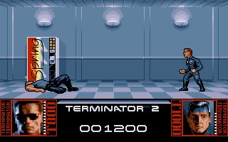 Terminator 2: Judgment Day Atari ST ..and then he shot me.
