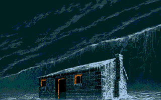 Shadow of the Beast II Atari ST House (from intro)