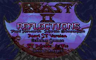 Shadow of the Beast II Atari ST Credits.