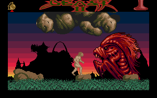 Shadow of the Beast II Atari ST Big red monster.