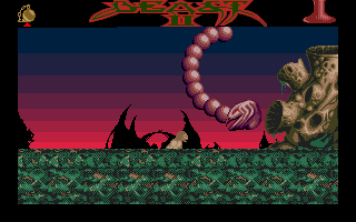 Shadow of the Beast II Atari ST What kind of enemy is this? Looks like something from R-type.