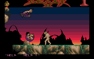 Shadow of the Beast II Atari ST Somebody needs my help.