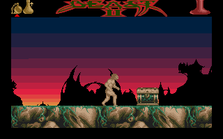 Shadow of the Beast II Atari ST Found a treasure.