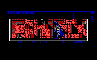 Batman: The Caped Crusader DOS Found that batkey I was looking for. (EGA)