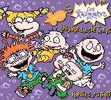 Rugrats: Time Travelers Game Boy Color Title screen (French version)