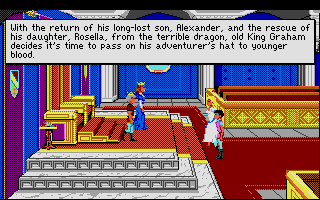 King's Quest IV: The Perils of Rosella Atari ST From the intro