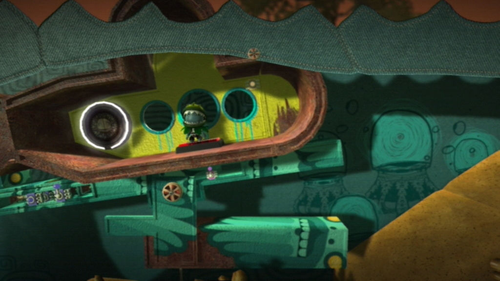 LittleBigPlanet PlayStation 3 Taking a submarine into the next world