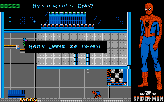 The Amazing Spider-Man DOS Oh no! Mary Jane is dead!