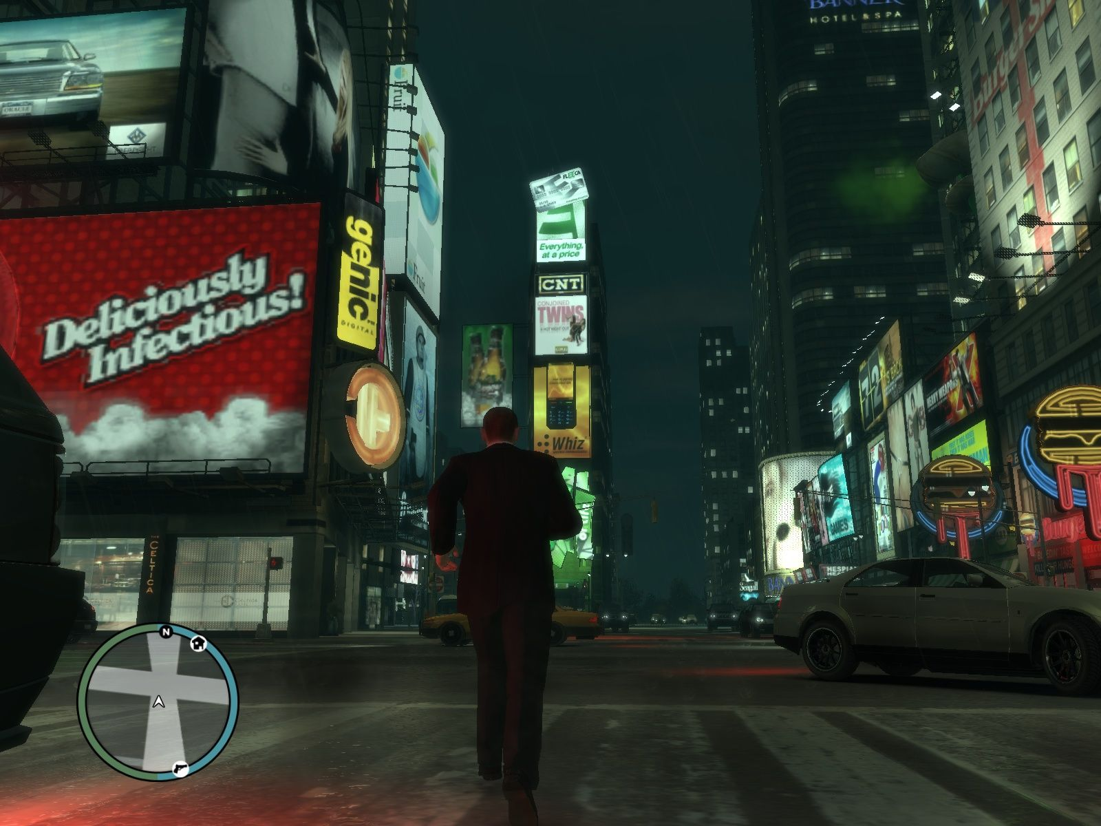 Grand Theft Auto IV Windows Time Square - no wait...that's somewhere else...