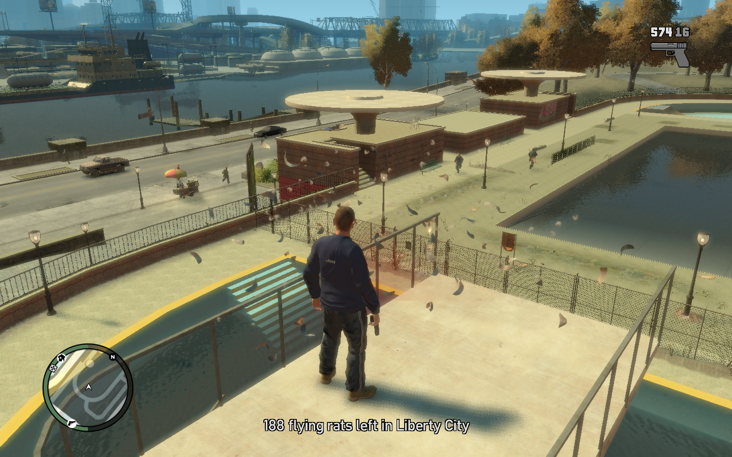 Grand Theft Auto IV Windows ...which are to be shot