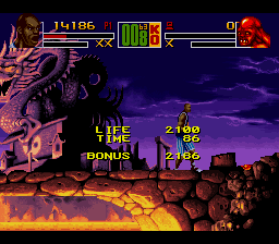 Shaq Fu SNES Bonus points