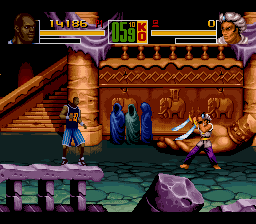 Shaq Fu SNES Another fighter