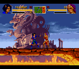 Shaq Fu SNES I heard of cat-fighting before, but this is ridiculous.