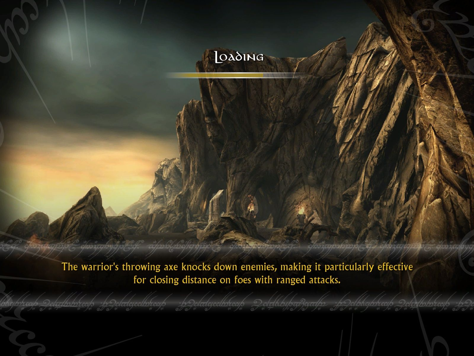 The Lord of the Rings: Conquest Windows Loading Screen