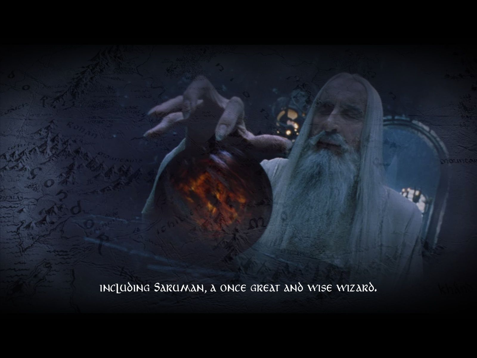 The Lord of the Rings: Conquest Windows The cutscenes make use of film scenes.