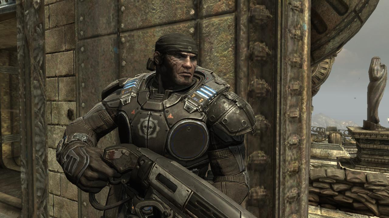 Gears of War 2 Xbox 360 Marcus Fenix is the main protagonist of the Gears of War series.