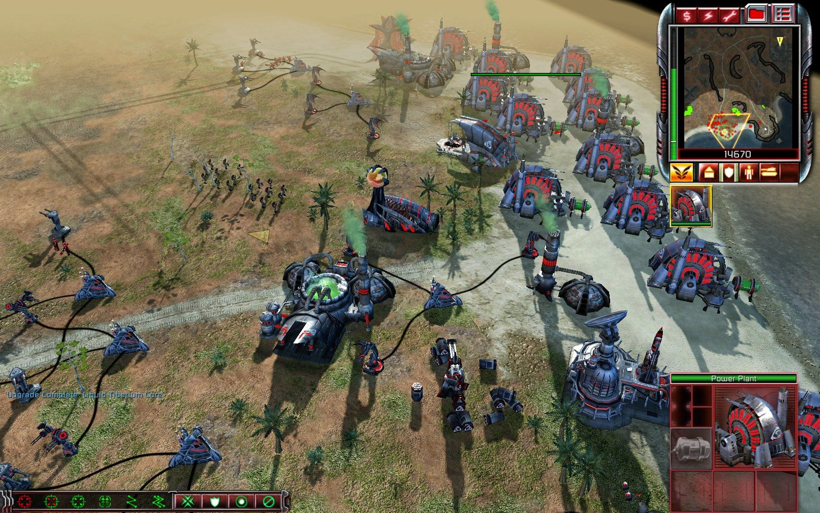 Command & Conquer 3: Kane's Wrath Windows Energy is what you'll need the most to properly defend your base.