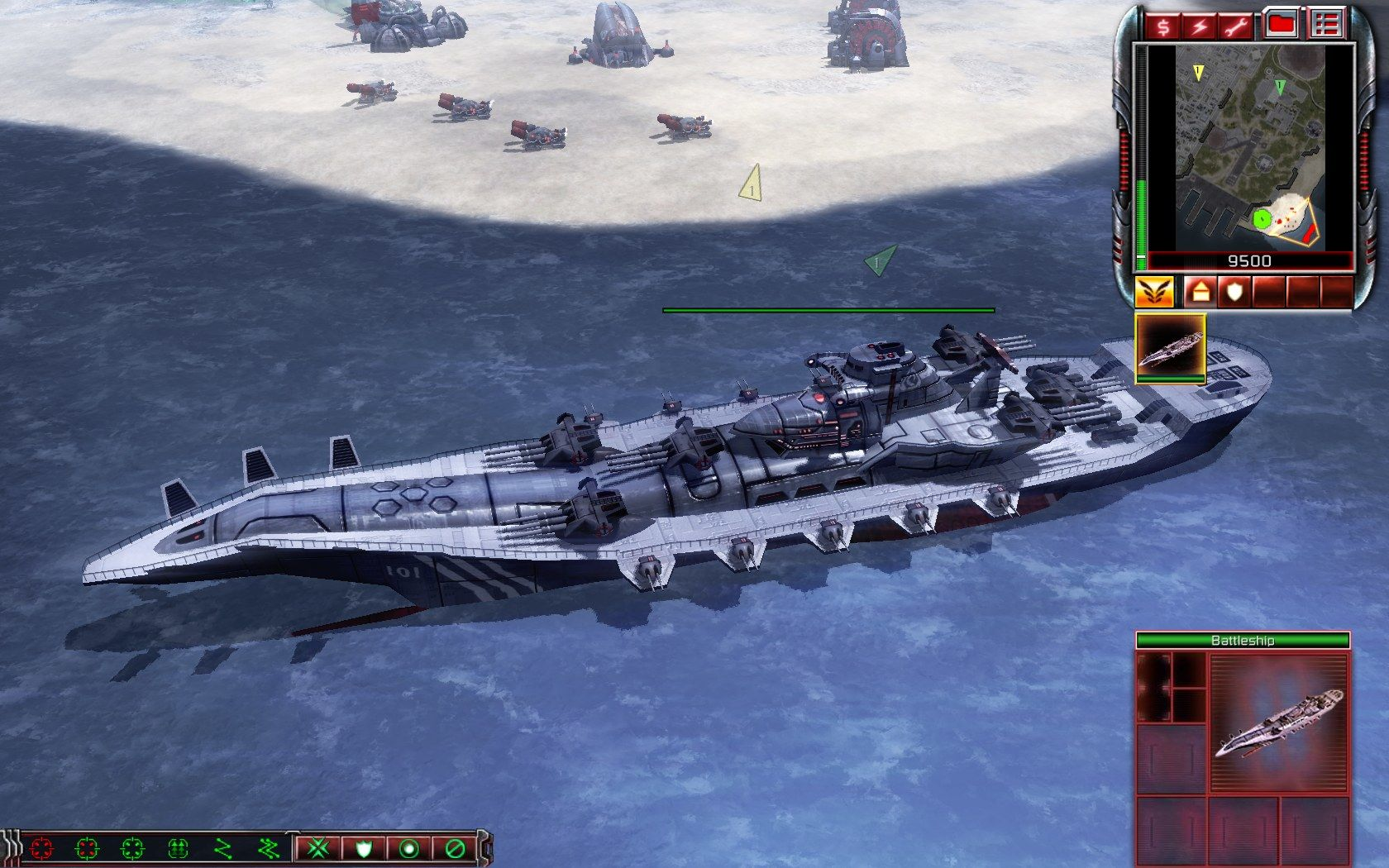 Command & Conquer 3: Kane's Wrath Windows Nod battleship as good as dead in the water since you cannot use it.