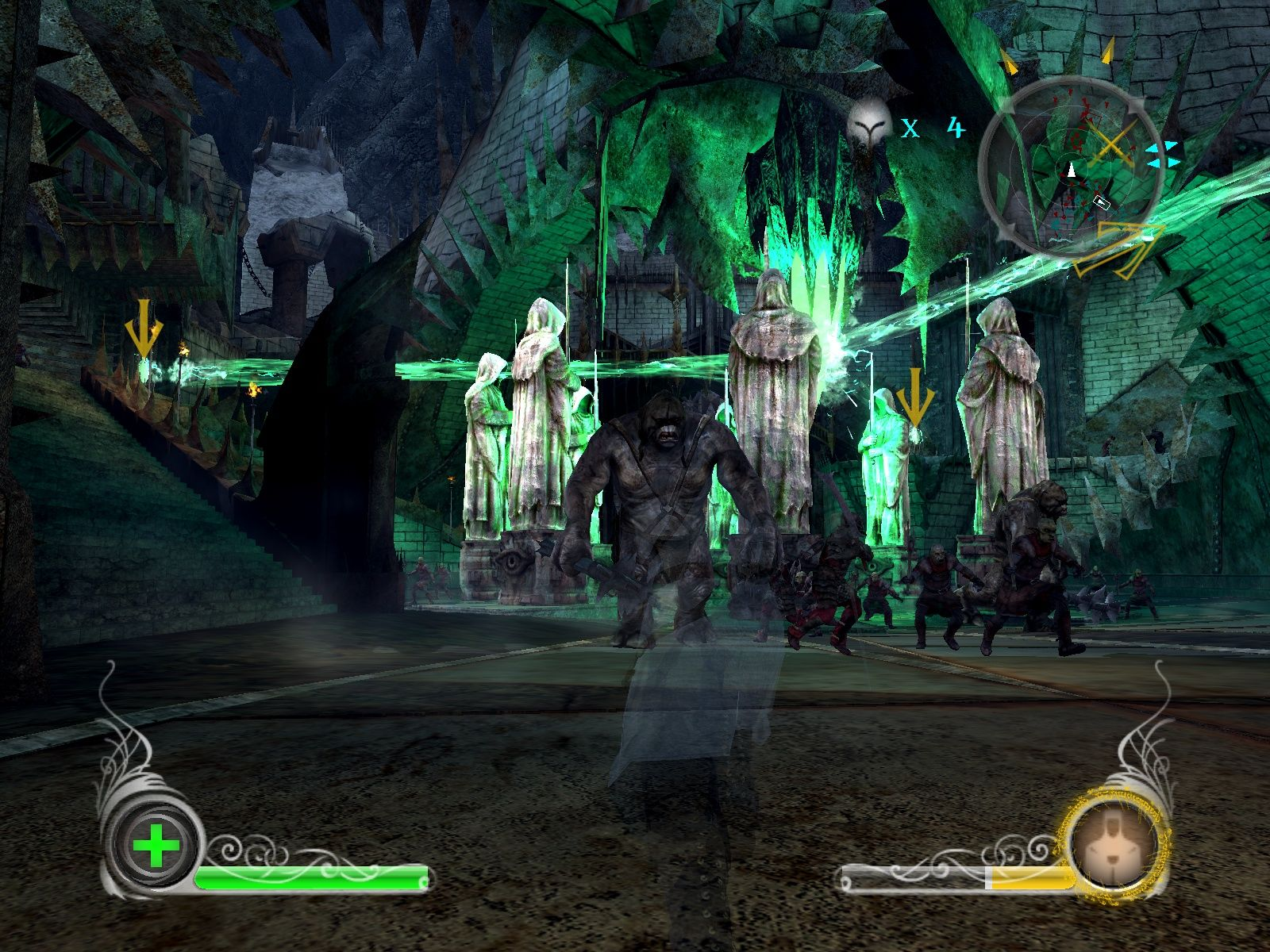 The Lord of the Rings: Conquest Windows The heart of Minas Morgul is heavily guarded.