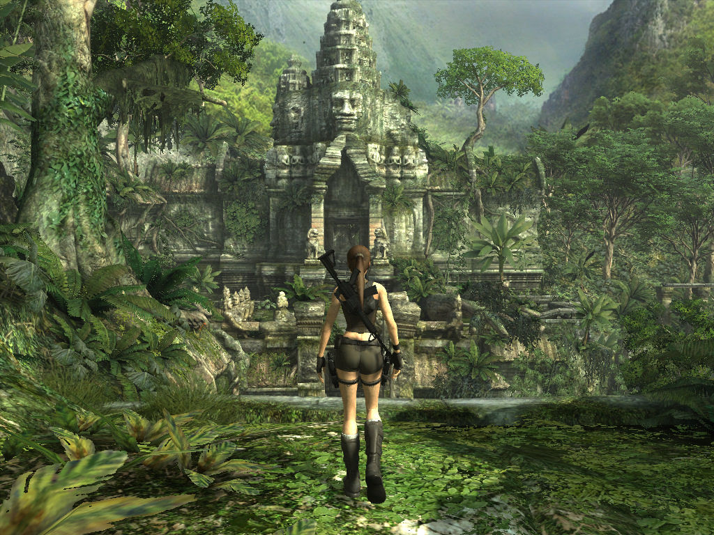 "Tomb Raider: Underworld Windows ""Weeeee! I just discovered the long-lost temple of an ancient, probably unknown civilization! Can't wait to blow it up in pieces!"" =D"