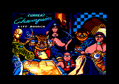 Shufflepuck Cafe Amstrad CPC Current champion