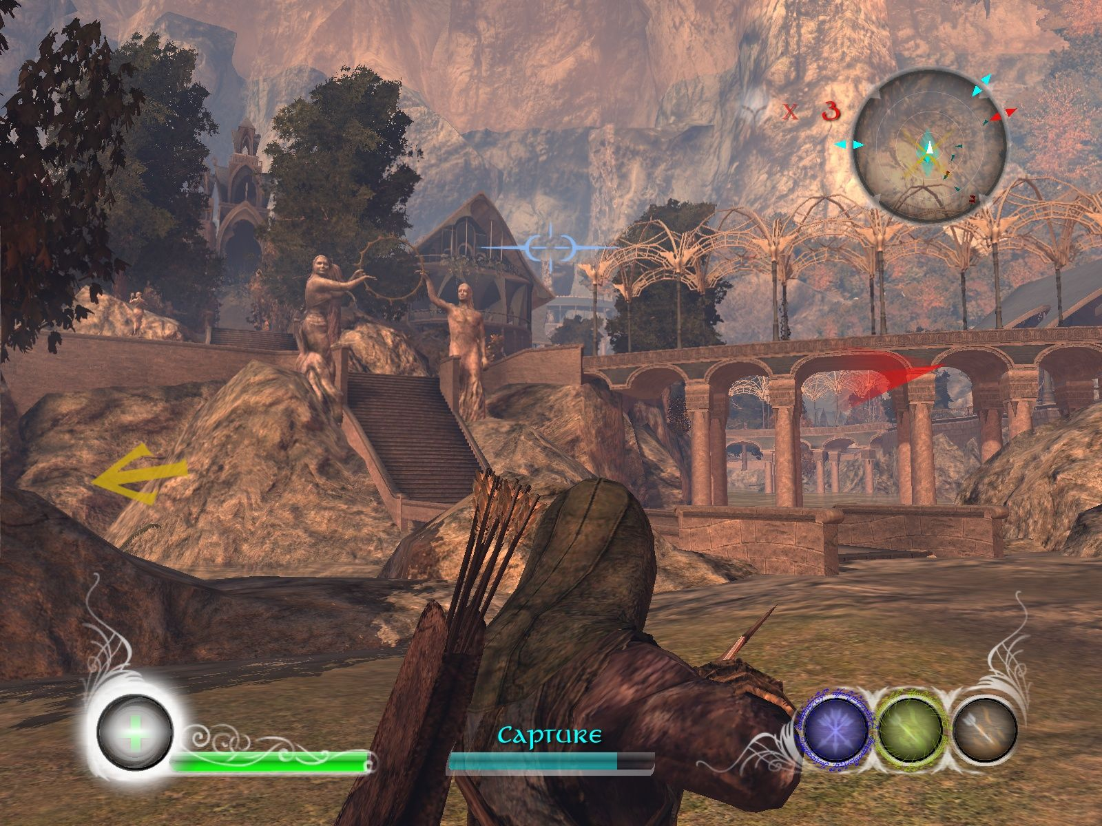 The Lord of the Rings: Conquest Windows Even Rivendell isn't save from Sauron's Horde.