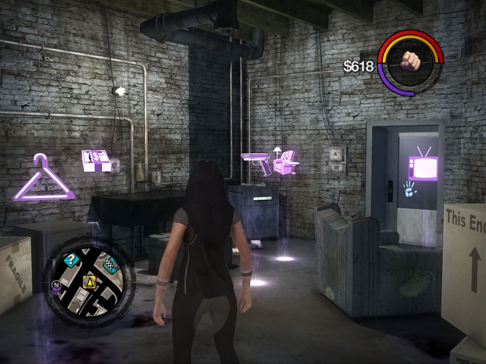Saints Row 2 Windows Your first, yet to be upgraded home