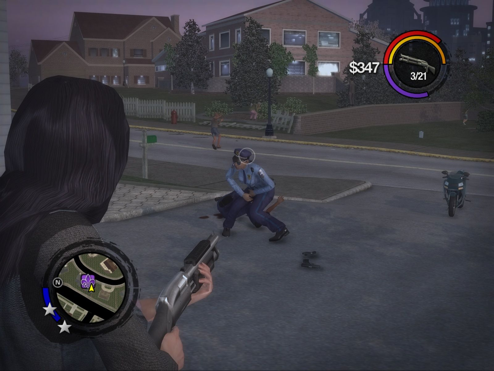 Saints Row 2 Windows In your face...I mean in your nuts...oh wait...well, who cares anyway. Just die already!