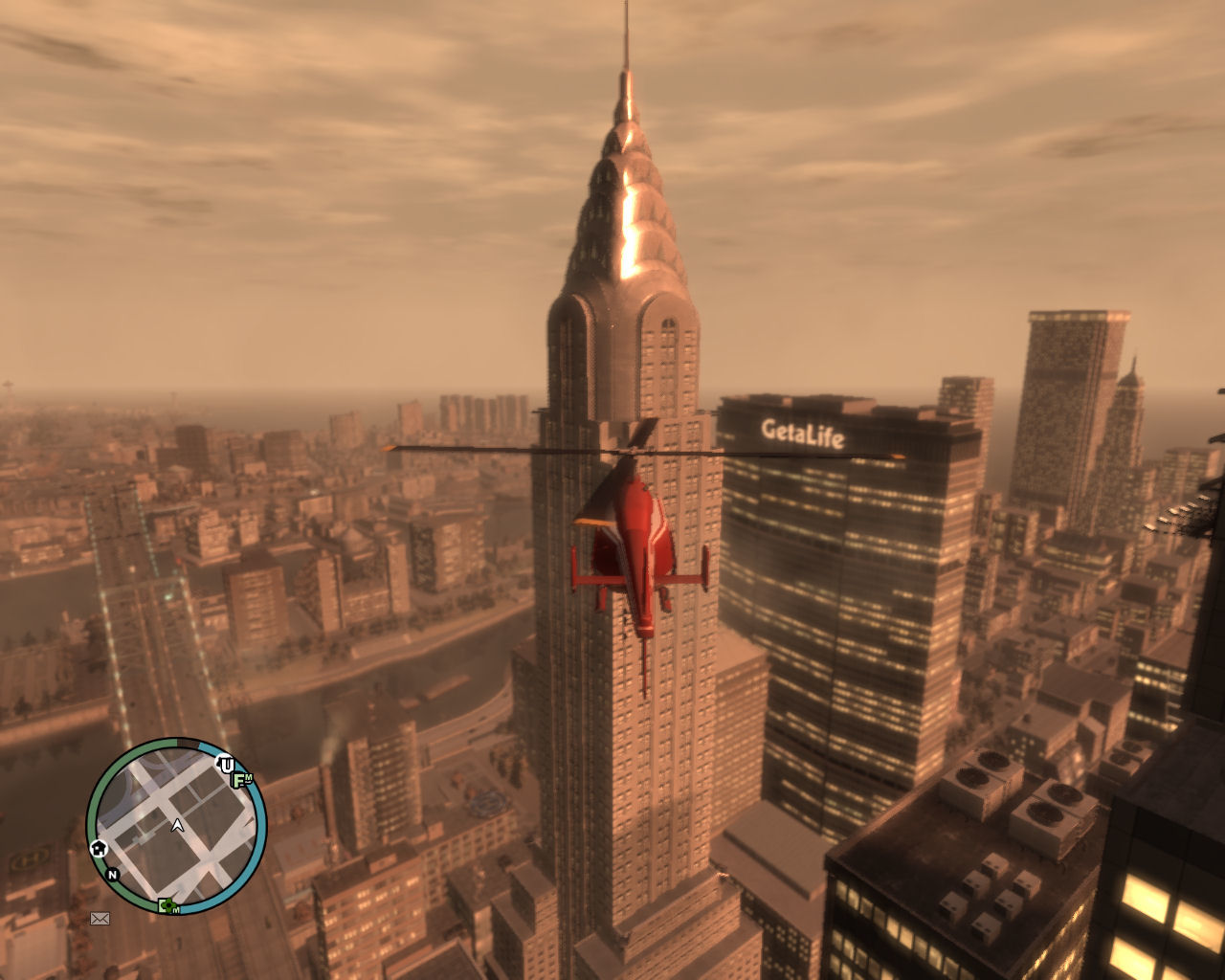Grand Theft Auto IV Windows GTA4 can be quite the looker...