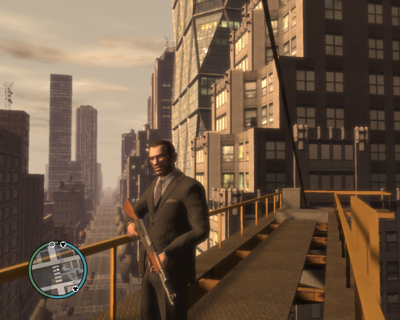 Grand Theft Auto IV Windows Nice view, eh?