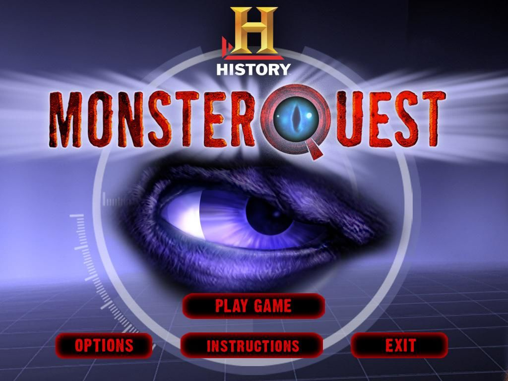 MonsterQuest Windows Title screen and main menu